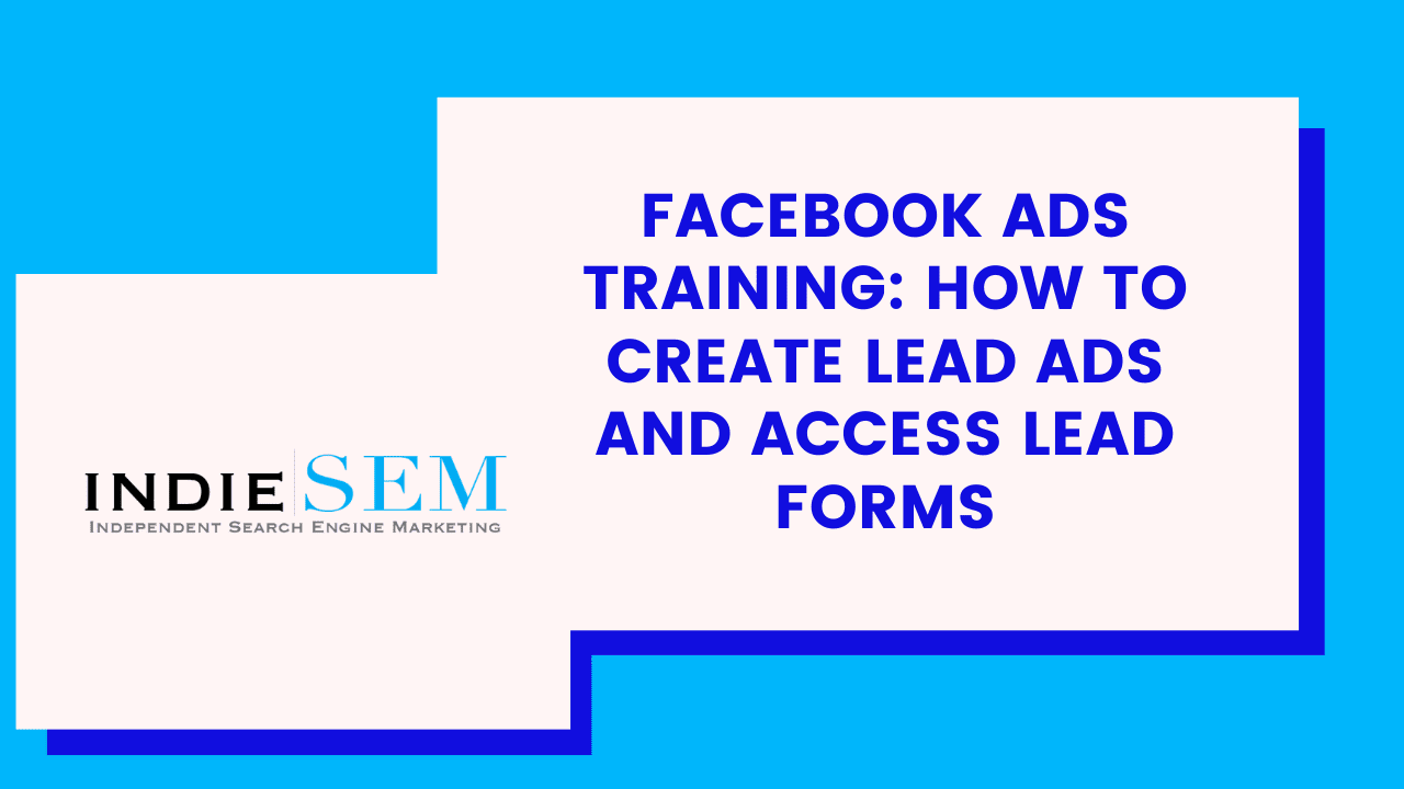 How to Create Facebook Lead Ads