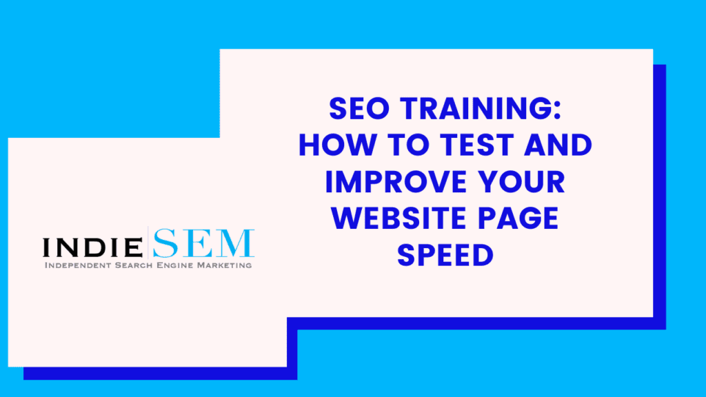 How to Improve Page Load Speads for SEO
